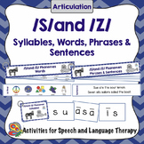 S Phoneme - Articulation on the Go!
