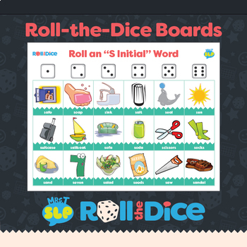 """""""S"""", """"S"""" Blends, and """"Z"""" Roll a Dice Games"""