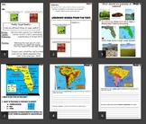 S.S/ELA comprehension Physical Maps vs Political Map (10 p