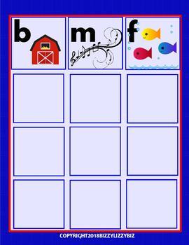 S Says SSSSS: Beginning Letter & Word Sound Games