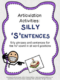 S Silly Sentences