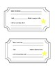S.T.A.R.S. rules, exit tickets, reward chart, cutouts