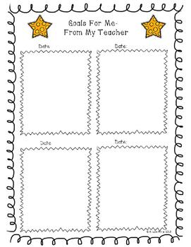 S.T.A.R/Student Data Binder/Take Home Folder