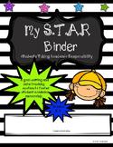S.T.A.R/Student Data Binder/Leadership Binder