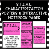 STEAL Characterization Posters