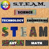 S.T.E.A.M. Bulletin Board Banners
