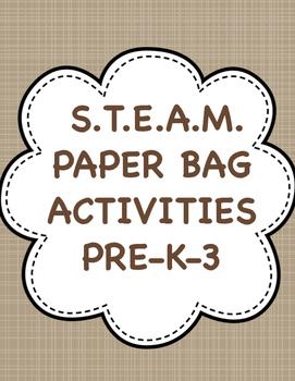S.T.E.A.M. PAPER BAG ACTIVITIES