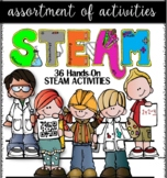 S.T.E.A.M./SCIENCE 36 HANDS-ON ACTIVITIES