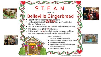 S.T.E.A.M. Up for the Gingerbread Walk