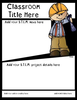 S.T.E.M. EDITABLE PROJECT TEMPLATES IN POWERPOINT