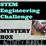 STEM Challenges Mystery Box Design Activities BUNDLE Dista