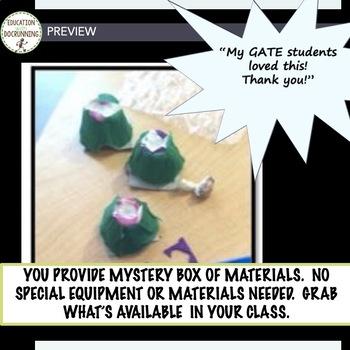 STEM Engineering Challenge: Mystery Box Design Activity