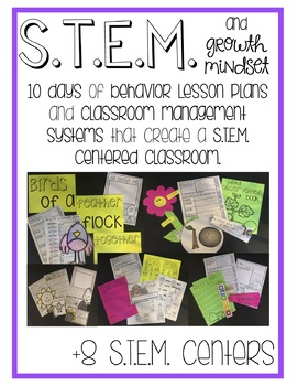 STEM and Growth Mindset Lessons