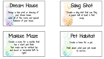 S.T.E.M task cards