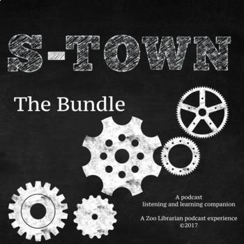 S-Town (The Full Bundle) Listening Companion, Listening Skills, Podcast Activity