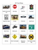S Travel Bingo for Summer Articulation Practice