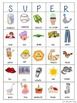 S-U-P-E-R: The Later Sounds Edition (A BINGO-type activity for Speech Therapy)