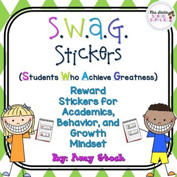 S.W.A.G. Stickers (COLOR)