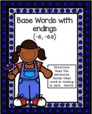 S and ES Endings Literacy Center