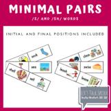 S and SH Minimal Pairs