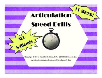 S-blend Artic Speed Drill SET