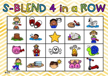 S blend games and activities