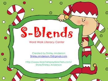 S-blends (Christmas Themed)