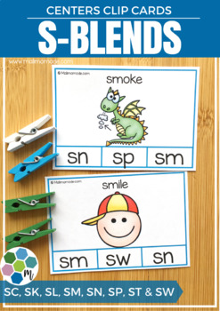 S-blends Clip Cards
