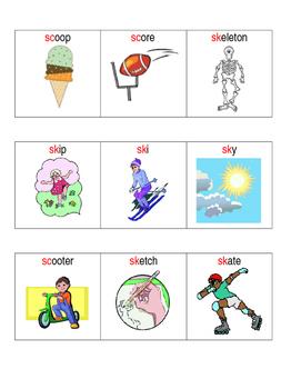 S blends for reading & speech