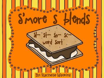 S blends word sort sl- sn- st- sc-