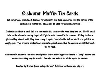 S-cluster Articulation Muffin Tin Activity