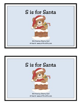 S is for Santa Guided Reader