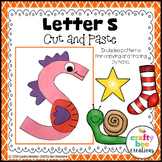 Letter S Craft {Seahorse}