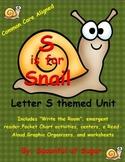 S is for Snail (Letter S Unit)