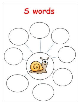 S is for Snail (Letter S Unit)
