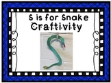 S is for Snake Phonics Creativity