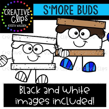 S'more Buds {Creative Clips Clipart}