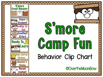 S'more Camp Fun Behavior Clip Chart