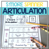 S'more Camping Articulation: No Prep Spinner Speech Therap