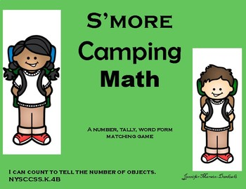 S'more Camping Math Activity