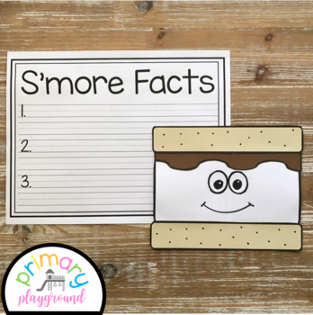 S'more Craft With Writing Prompts/Pages