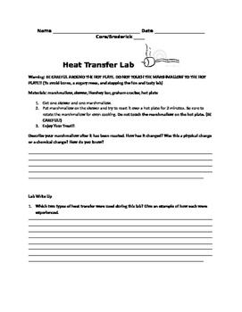 Heat Transfer - S'more Lab