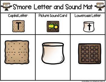 S'more Letter & Sound Match