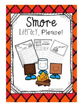 S'more Literacy, Please: Fall Phonics Activity Set