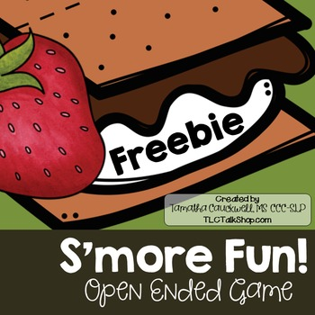 S'more Open Ended Fun: FREEBIE