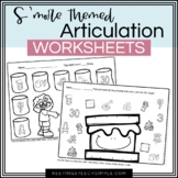 S'more Speech No Prep Articulation Worksheets