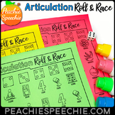 Articulation Roll and Race Dice Game for Speech Therapy