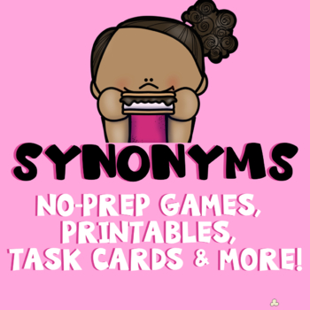 S'more Synonyms: Vocabulary Games and Activities for Third Grade