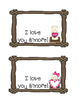 "S'more Valentine's Day Bag Topper - ""I love you S'more!"""