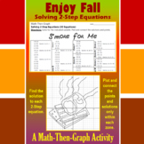 S'more for Me - A Math-Then-Graph Activity - Solve 2-Step Equations
